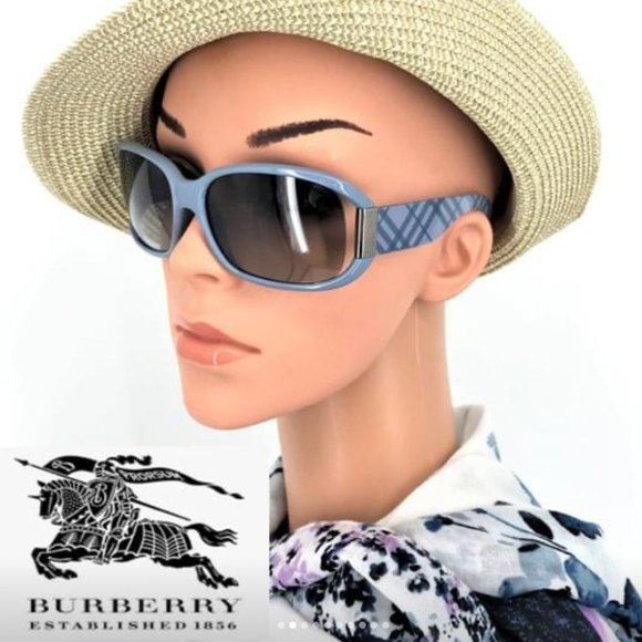 BURBERRY 100% AUTHENTIC SUNGLASSES WITH CASE